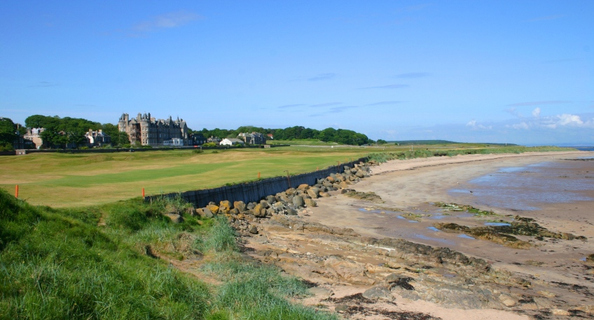 2nd Hole at North Berwick Golf Club